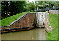 SP1756 : Wilmcote Locks No 48, Warwickshire by Roger  Kidd