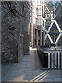 TQ3381 : Old and new near Undershaft by Roger Jones
