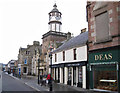 NH5458 : High Street, Dingwall by Richard Dorrell