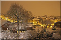 TQ2995 : Snow in London N14 : Week 4