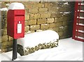 SK2796 : The Post Box in Bolsterstone by Dave Pickersgill
