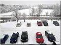 SE3903 : Car park at Billington Structures Ltd by Steve  Fareham