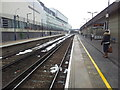 TQ2380 : London Overground rail tracks at Shepherds Bush station by Helen Steed