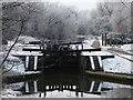 SK5701 : Aylestone Mill Lock by Mat Fascione