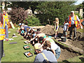 SP2865 : Archaeology taster day, St John's House: the dig by Robin Stott