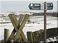 SK2596 : Signpost on Heads Lane by Dave Pickersgill