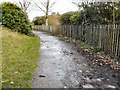 SJ9599 : Footpath near Stamford Park by Gerald England