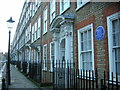 TQ3081 : Great James Street, Bloomsbury, with blue plaque for Dorothy L. Sayers by Christopher Hilton