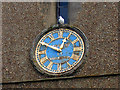 TQ3461 : All Saints church, Sanderstead: clock by Stephen Craven
