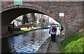 SJ7186 : Agden Bridge, Bridgewater Canal by michael ely