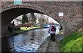 SJ7186 : Agden Bridge, Bridgewater Canal by michael ely