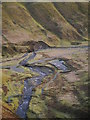 NT1814 : Grey Mare's Tail Nature Reserve Car Park by James T M Towill