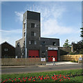 TG1542 : New fire station, Cromer Road by Robin Stott