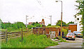 SD5614 : Site of Coppull station, WCML 1994 by Ben Brooksbank