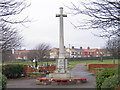 NZ4344 : War memorial, Easington Colliery by Trevor Littlewood