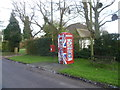 TQ5961 : Old telephone kiosk now put to a new use by Ian Yarham