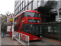 TQ2879 : Boris Bus at Stand D, Victoria Bus Station by David Anstiss