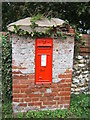 TG3022 : Victorian post-box by Barbara Carr