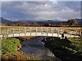 SH6035 : Footbridge near Ynys by Arthur C Harris