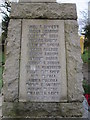 NZ2595 : The War Memorial at Holy Trinity, Widdrington by Ian S