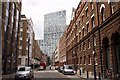 TQ3381 : Folgate Street in Spitalfields by Steve Daniels