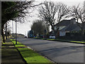 Dist:0.2km<br/>The main road through Scremerston follows the former line of the old A1 and Great North Road. An Arriva bus service from Newcastle can be seen waiting at the bus stop in the centre of the village before heading to Berwick and completing its journey.