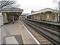 TQ2075 : Mortlake railway station, London by Nigel Thompson