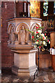 TQ3190 : St Mark, Noel Park - Pulpit by John Salmon