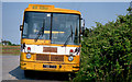 S9909 : Bus scoile, Bridgetown by Albert Bridge