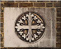 TQ2883 : St Michael, Camden Road - Consecration cross by John Salmon