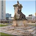 SJ8498 : Piccadilly Gardens, Monument to Queen Victoria by David Dixon