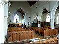 TL2842 : St Peter & St Paul, Steeple Morden, Interior by Alexander P Kapp