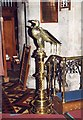 SO4051 : St Peter & St Paul, Weobley - Lectern by John Salmon