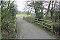 SJ8587 : Access path to Bruntwood Park by Geoff Royle