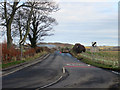 NU1133 : Looking along the B6349, Belford by Graham Robson