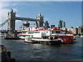 TQ3380 : The Dixie Queen, and Tower Bridge by David Purchase