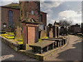 NX9775 : St Michael's Churchyard by David Dixon