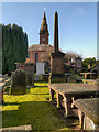 NX9775 : St Michael's Church and Graveyard, Dumfries by David Dixon