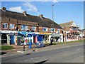 TQ2206 : Shops in Upper Shoreham Road by Paul Gillett