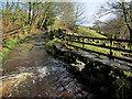 SE1442 : Stone Footbridge over Gill Beck by Chris Heaton