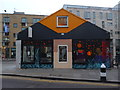 TQ3382 : Colourful business, Redchurch Street E2 by R Sones
