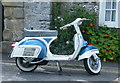 SK1969 : Vespa, Fennel Street, Asford in the Water by Terry Robinson