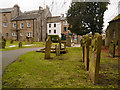 NY7146 : Graveyard, St Augustine's Church by David Dixon