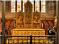 NY3955 : The BroughamTriptych, Carlisle Cathedral by David Dixon