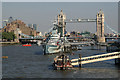 TQ3380 : London Bridge Pier and Tower Bridge by Chris Allen