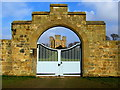 SK4663 : Hardwick Hall seen through a Gate by Chris Heaton