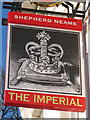 TQ5742 : The Imperial sign by Oast House Archive