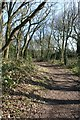 SJ5572 : Footpath south of Flaxmere by Dave Dunford