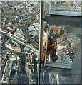 TQ3280 : Workman on The Shard by Rob Farrow