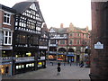SJ4066 : Crossroads in Chester City Centre by Chris Holifield